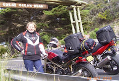 Frances - Event, Turismo 2008 (At Start of Great Ocean Road)